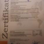 Bio Zertifikat karpfen