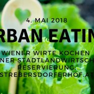 Wiener Wirte kochen Stadtlandwirtschaft am 4. Mai 2018