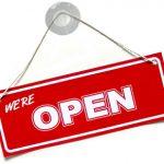 Zusätzliche Wochenenden geöffnet